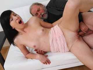 Alisa gets to learn how top suck cock..