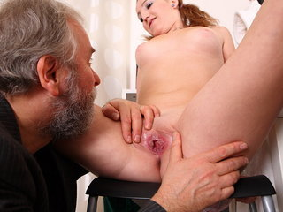 Sveta and her lover bring an older..
