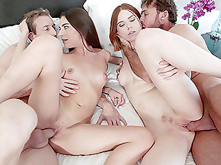 Two hot friends Arielle Faye and..